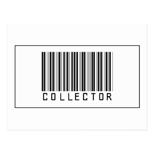 Barcode Collector Post Cards