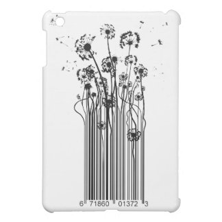 Barcode Dandelion Silhouette Cover For The iPad Mini