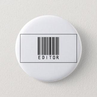 Barcode Editor 2 Inch Round Button