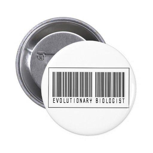 Barcode Evolutionary Biologist Pins