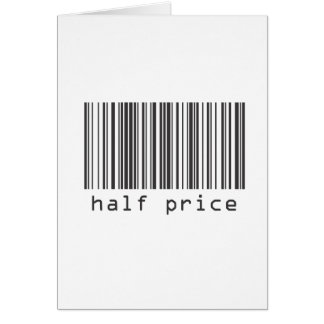Barcode - Half Price Card