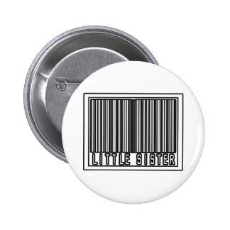Barcode Little Sister Button