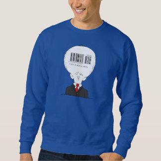 Barcode man sweatshirt