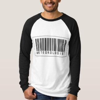Barcode Meteorologist T-Shirt