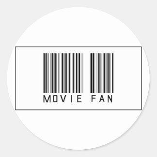 Barcode Movie Fan Stickers