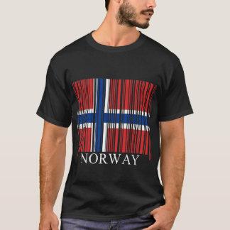 Barcode Norway Flag T-Shirt
