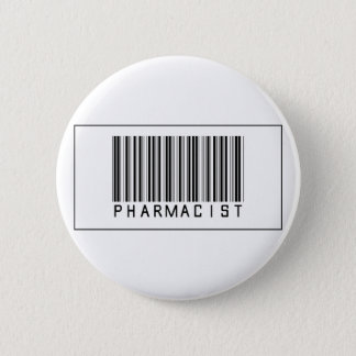 Barcode Pharmacist 2 Inch Round Button