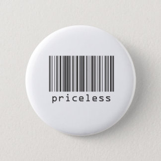 Barcode - Priceless 2 Inch Round Button