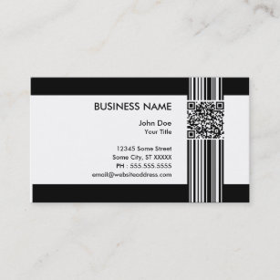 Barcode business cards profile cards zazzle ca barcode qr code business card colourmoves