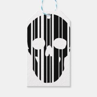 Barcode Skull Gift Tags