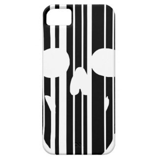 Barcode Skull iPhone 5 Cases