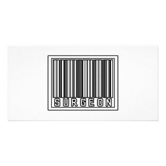 Barcode Surgeon Customized Photo Card
