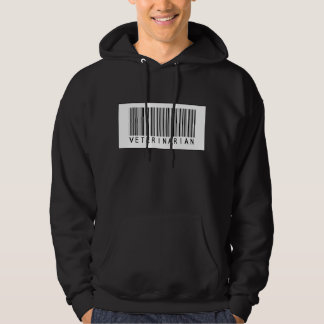 Barcode Veterinarian Hoodie