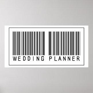 Barcode Wedding Planner Print