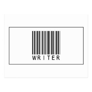 Barcode Writer Postcard