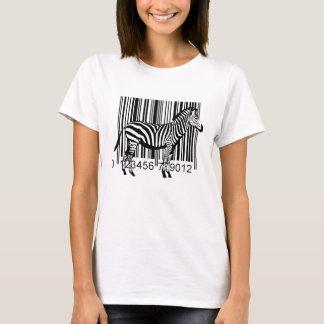 Barcode Zebra illustration T-Shirt