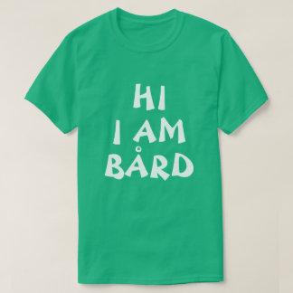 Bård Norwegian Name funny in English T-Shirt