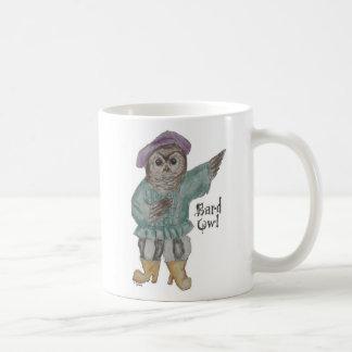Bard Owl Coffee Mug