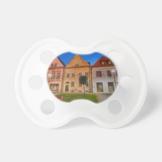 Bardejov central place baby pacifiers