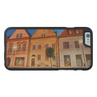 Bardejov central place carved maple iPhone 6 case
