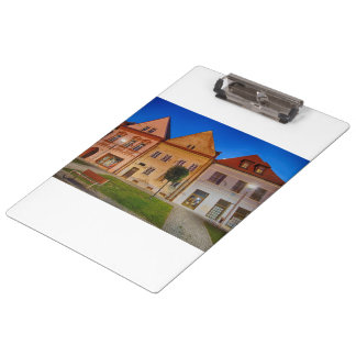 Bardejov central place clipboards