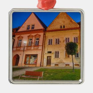 Bardejov is a city of Slovakia Metal Ornament