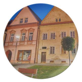Bardejov is a city of Slovakia Plate