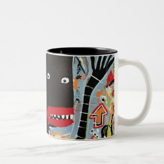 "Bardinart ""Bingo"" Two-Tone Coffee Mug"
