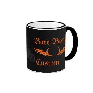 Bare Bones Custom Motorcycle Mugs