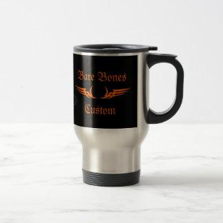 Bare Bones Custom Motorcycle Travel Mug