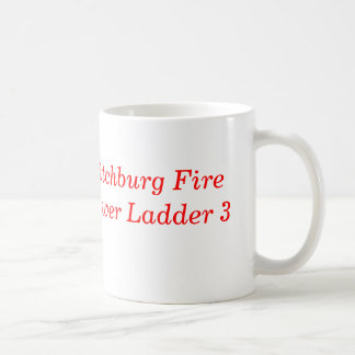 BARE BONES, Fitchburg FireTower Ladder 3 Classic White Coffee Mug