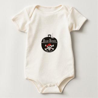 Bare Bones Motorcycles Graphic Design Baby Bodysuit