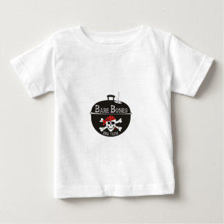 Bare Bones Motorcycles Graphic Design Baby T-Shirt