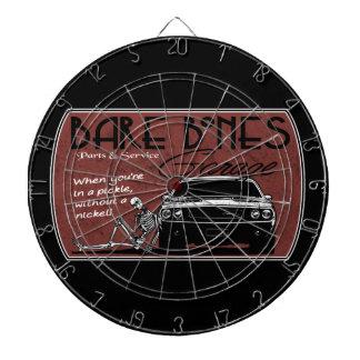 Bare Bones Pickle Dartboard