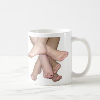 Bare Feet Art Coffee Mug