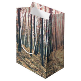 Bare forest medium gift bag