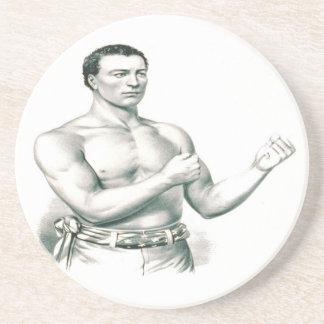 Bare-Knuckle Boxer John C. Heenan - The Champ! Coasters