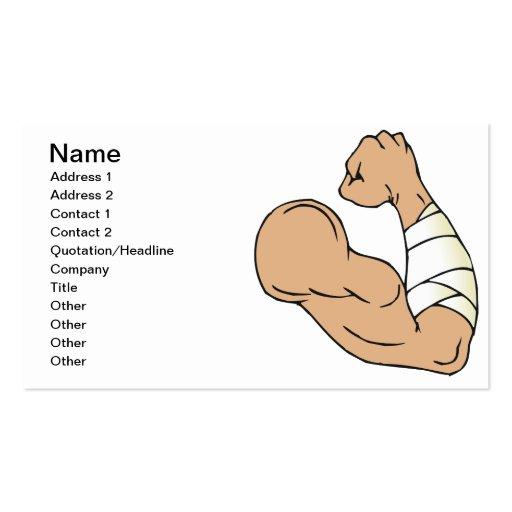 Bare Knuckle Brawler Business Card Templates