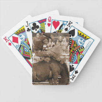 Bareback Rider Bicycle Playing Cards