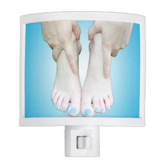 Barefoot Blue Spotlight Night Light