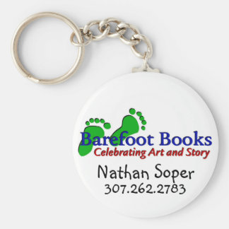 Barefoot Books by Nathan Keychain