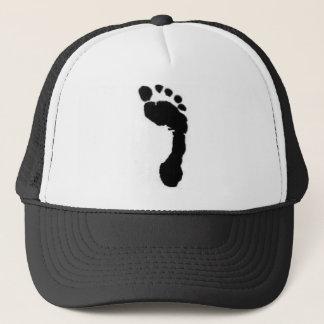 Barefoot Brand trucker hat featuring logo