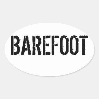 Barefoot Bumper Sticker