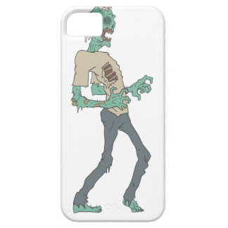 Barefoot Creepy Zombie With Rotting Flesh Outlined iPhone 5 Cases