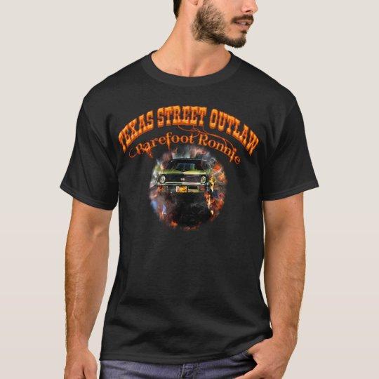 """""""Barefoot Ronnie"""" Green 71 Yenko Nova Tshirt/Black T-Shirt"""