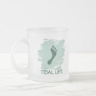 Barefoot Tidal Life Frosted Mug