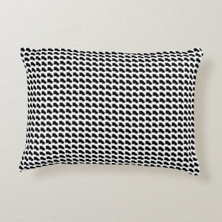 """Barely a Houndstooth Accent Pillow 16"""" x 12"""""""