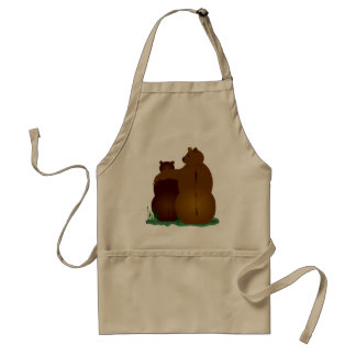Barely Bears Standard Apron