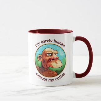 Barely human w/o coffee mug