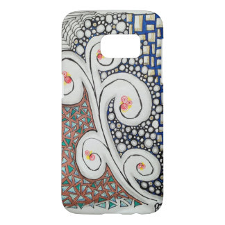 Barely There Case, Original Art Design Samsung Galaxy S7 Case